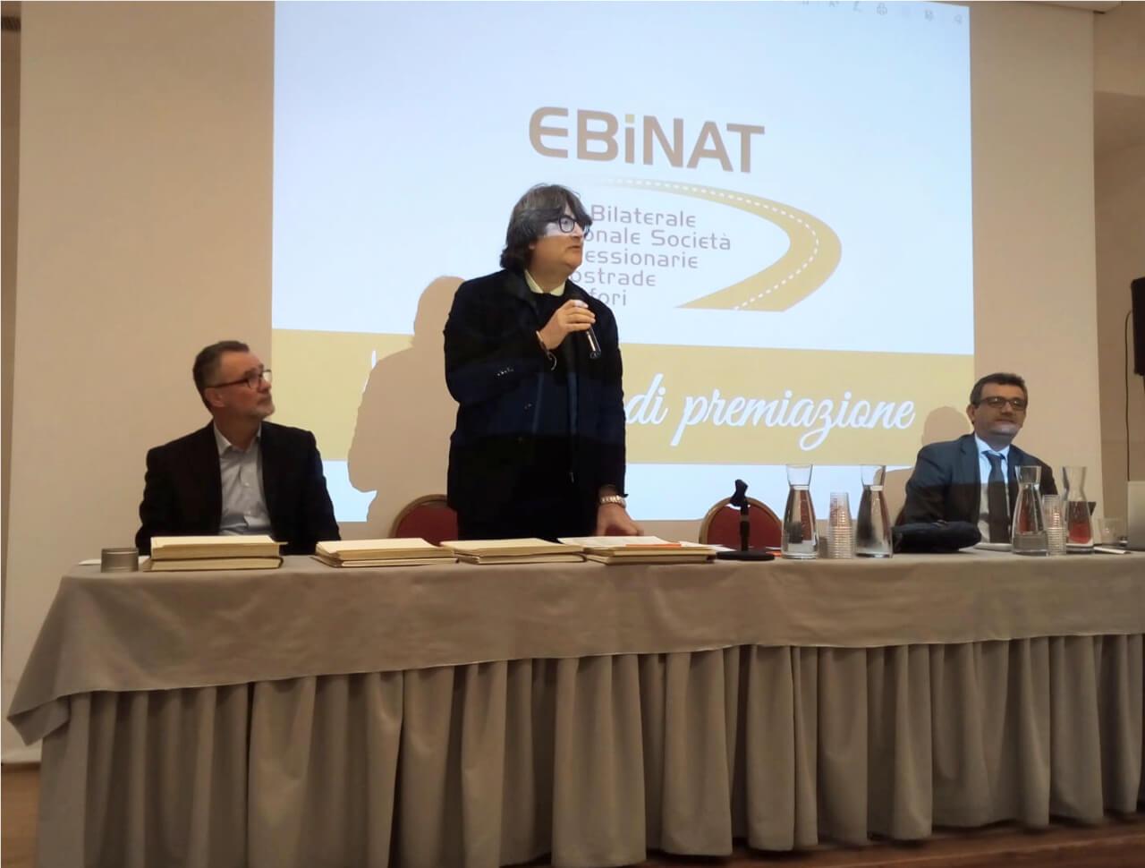 Il Presidente Masucci con i Consiglieri Collini e Micaroni