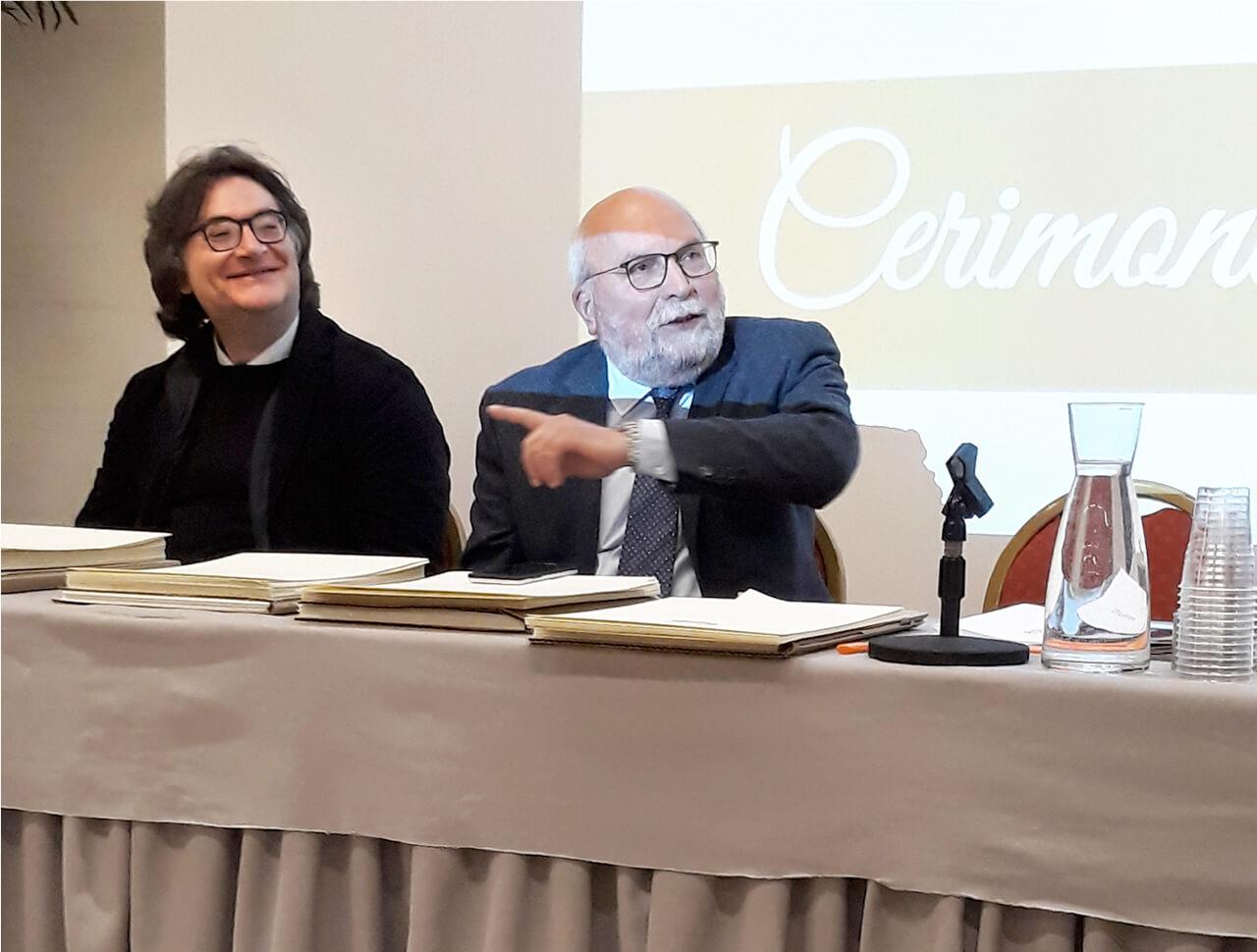 il Presidente Masucci con il Vice Presidente Cipullo