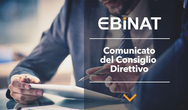 Comunicato del Consiglio Direttivo
