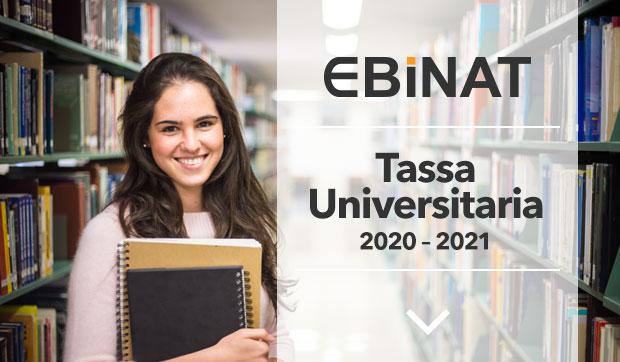 Contributo per Tassa iscrizione universitaria. Anno accademico 2020/2021